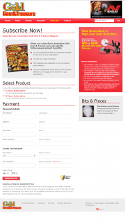 Australian Gold Gem & Treasure Magazine – Buy a Subscription & – Win a Mine Lab Gpx 5000 Metal Detector