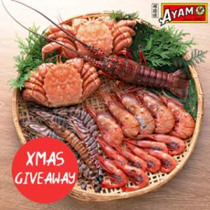 Ayam – Win a Triple Pass to a Sydney Seafood School Cooking Class (based on Skill). (prize valued at $15)