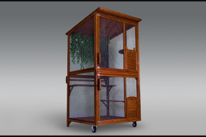 Backyard Cat Enclosures – Win a Kitty Kondo Today (prize valued at $1,199)