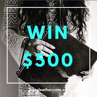Bare Leather FB – Competition (prize valued at $500)