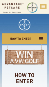 """Bayer Advantage – PeTBarn-City Farmers stores buy an eligbile product – Win a Vw"""" Promotion (""""promotion"""") and on The Prizes Forms Part of These Terms and Conditions (prize valued at $1)"""
