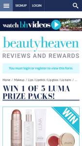 Beauty Heaven – Win One of Five Luma Prize Packs