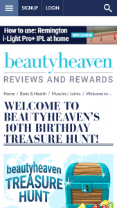 Beautyheaven – Win Beauty Prize Pack Valued at Over $500 (prize valued at $500)