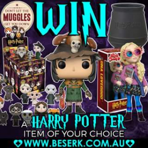 Beserk clothing – Win a Harry Potter Item of Your Choice From Beserk