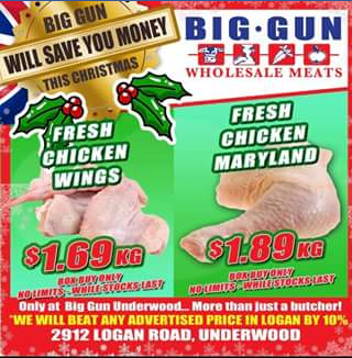 Big Gun Wholesale Meats Underwood – Win a $100 Voucher