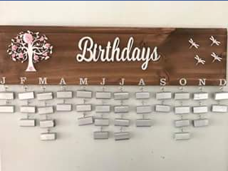 Birthday Boards by Julie – Competition