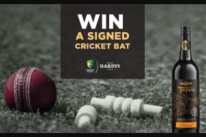 Bottlemart – Win a Signed Cricket Bat (prize valued at $350)