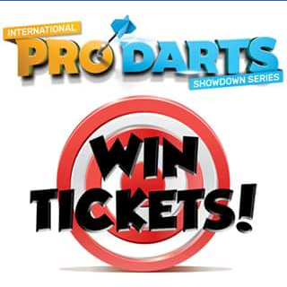 Brisbane Showgrounds – Win 1 of 2 Double Passes to The International Pro Darts Showdown Series