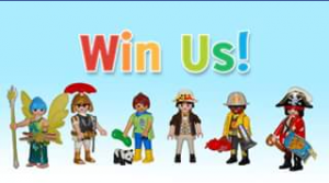 CactusKids – Win 1 of 2 Sets of Six Fantastic Playmobil Figures (prize valued at $30)