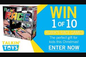 Channel 7 – Sunrise – Win One of Ten Rubik's Race Games