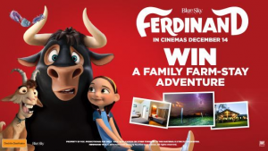Channel Ten – Ferdinand – Win a family farm stay adventure at Henderson cattle farm