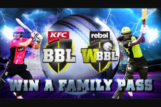 Channel Ten – Win a Bbl Family Pass (prize valued at $265)