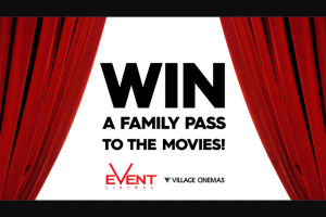 Channel 9 – Today Show – Win Movie Tickets