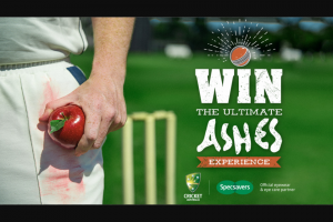 Channel 9 – Win an Unforgettable Ashes Experience for Two (prize valued at $6,560)