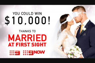 Channel 9 – Win $10000 Awarded Via Electronic Funds Transfer (prize valued at $10,000)