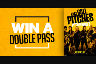 Chilli 90.1fm – Win a Double Pass to See Pitch Perfect 3