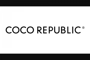 Coco Republic – Win an Outdoor Oasis (prize valued at $6,320)