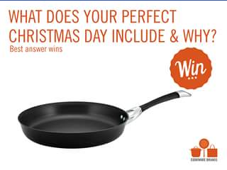 Cookware brands – Win a Circulon Symmetry Open French Skillet (prize valued at $179)