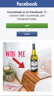 Couchmate FB – Win a Couchmate
