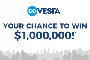 Covesta – Win Up to a $1000000 (prize valued at $1,000,000)