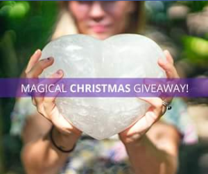 Crystal Castle – Win this Beautiful Clear Quartz Heart With a Magical Time at The Crystal Castle for You and Two Friends
