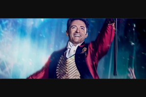 Dendy cinemas – Win Greatest Showman Prize Pack