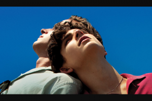 Dendy cinemas – Win One of Six Call Me By Your Name Packs