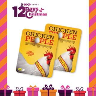 Dendy Direct 12 Days of Christmas giveaways – Win a Chicken People Mouse Pad