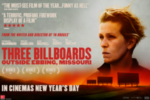 Dendy – Win a Copy of The Screenplay of Three Billboards Outside Ebbing Missouri