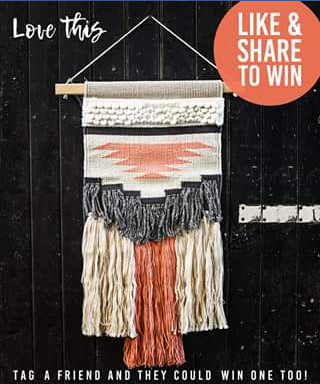 Factory & field – Win a Wall Hanging