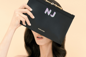 Fashion Journal – Win One of Two Monogrammed Pouch Sets From Nicole Jaymes