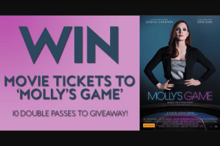 Fashion Weekly – Win Movie Tickets to 'molly's Game'?""