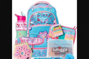 Girl – Win a Girls Back to School Pack Valued at $204.65 Including (prize valued at $204.65)