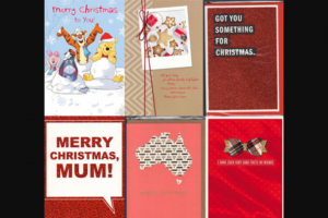 girl – Win One of 3 X Hallmark Christmas Packs Valued at $115 Each (prize valued at $115)
