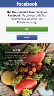 Gourmand & Gourmet – Win a Fruit Basket From Charlie's Fruit Market Brisbane