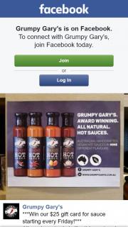 Grumpy Gary's – Win this Amazing Grumpy Gary's Hot Sauces Gift Card