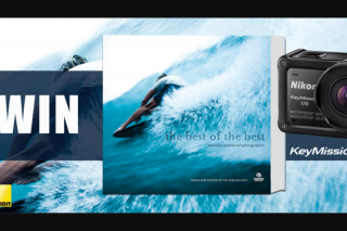 Hachette – Win a Nikon Underwater Camera Worth $579 and a Copy of Best of The Best (prize valued at $579)