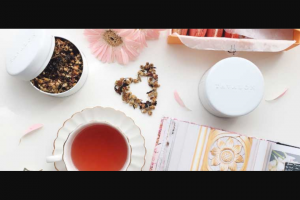 High tea society – Win a Premium Tea Maker Set With a High-Quality Gravity Brewing Tea Pot and Two Tins of Tavalon's Best-Selling Blends