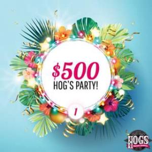 Hog's Breath Cafe – Win a $500 Hog's Party Voucher