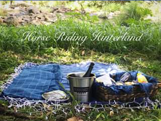 Horse Riding Hinterland – Win a One Hour Champagne Picnic Ride for Two