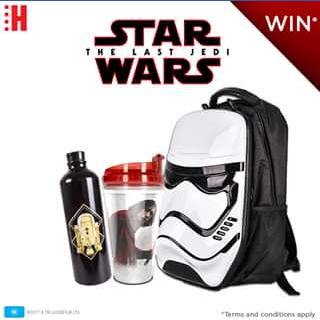 Hoyts Australia – Win Star Wars The Last Jedi Prize Pack