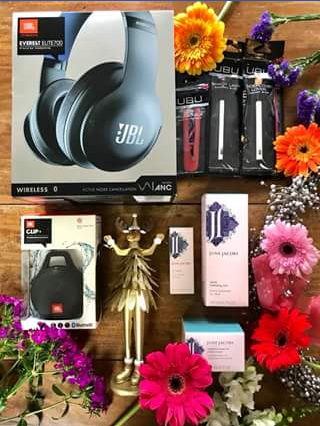 Hush Communications – Win a Jbl Ubu Urban Beauty United & June Jacobs Spa Collection Pk