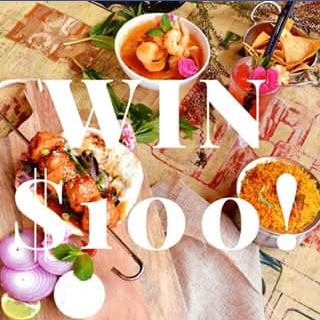 IndiMex cafe bar restaurant Milton – Win a $100 Indimex Voucher (prize valued at $100)