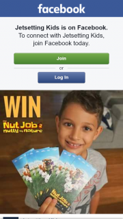 Jetsetting Kids – Win 1 of 5 Family Movie Passes (admit 4)