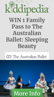 Kiddipedia – Win 1 Family Pass to The Australian Ballet's