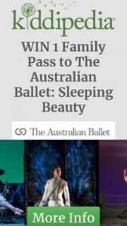 Kiddipedia – Win 1 Family Pass to The Australian Ballet's