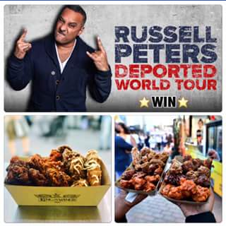 King of the Wings – Win Tickets to See The Real Russell Peters Live In Brisbane on Feb 13