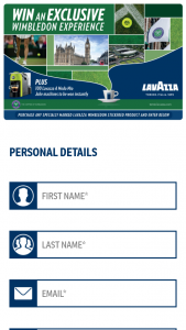 Lavazza – Win The Major Prize (prize valued at $79.99)