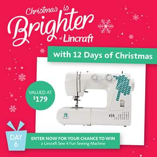 Lincraft – Win 1 Lincraft Sew 4 Fun (prize valued at $179)