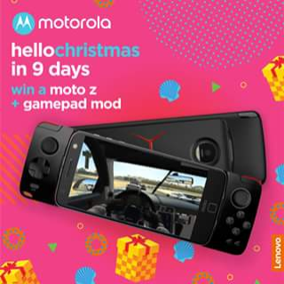 Motorola – Win a Moto Z and Moto Gamepad By Sharing this Post on Your Wall and Tagging a Fellow Gamer